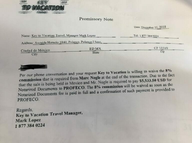 key to vacation scam mark lopez